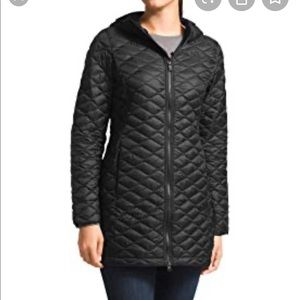 North Face Quilted Hooded Thermoball Parka XS